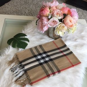 Accessories - Plaid Check Scarf